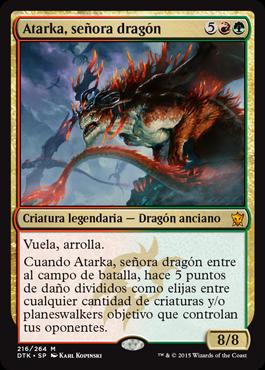 Atarka, señora dragón