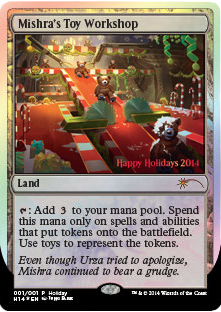 The 2014 Holiday Card MAGIC THE GATHERING