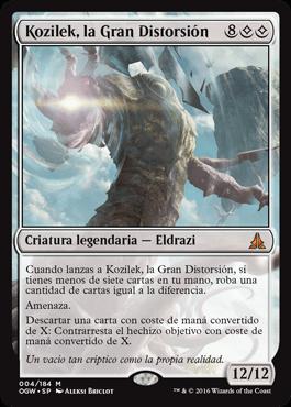 Kozilek, la Gran Distorsión