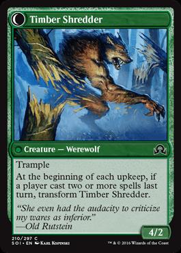 Timber Shredder