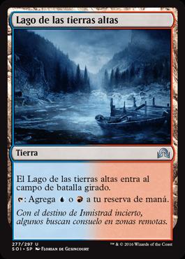 Lago de las tierras altas