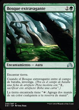 Bosque extravagante