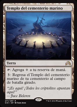 Templo del cementerio marino