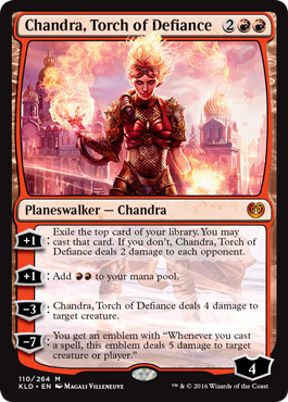 Chandra, Torch of Defiance