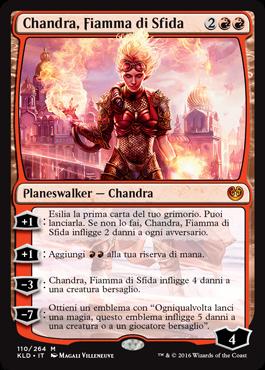 Chandra, Fiamma di Sfida