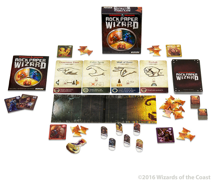 Image result for rock paper wizard board game