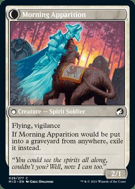 Morning Apparition