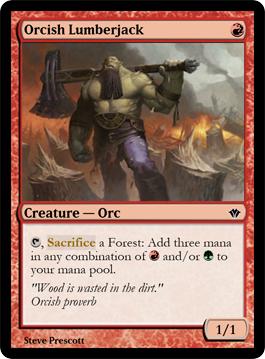 Orcish Lumberjack
