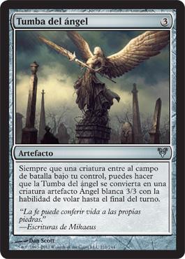 Tumba del ángel