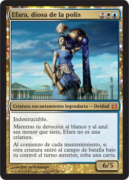 Efara, diosa de la polis