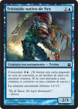 Tritónido nativo de Nyx