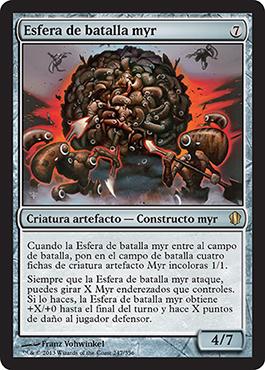 Esfera de batalla myr