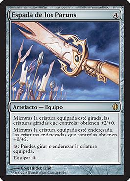 Espada de los Paruns