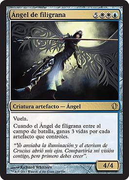 Ángel de filigrana