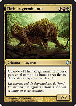 Thrinax germinante