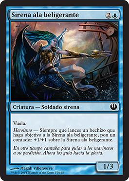 Sirena ala beligerante