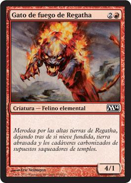 Gato de fuego de Regatha