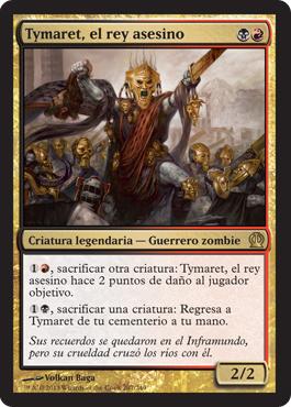 Tymaret, el rey asesino