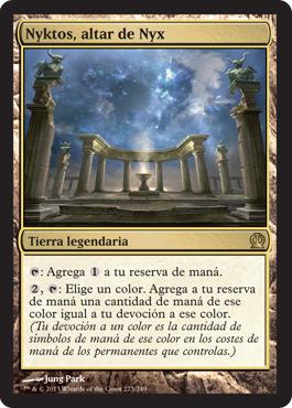 Nyktos, altar de Nyx