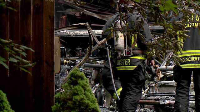 Three classic cars destroyed in Austintown garage fire Thursday