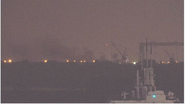 BREAKING: Fire at BAE systems in Mobile