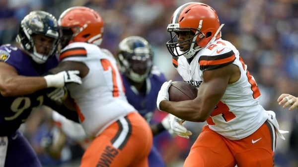 Watch: Nick Chubb gives Cleveland Browns lead over Seattle Seahawks with seven-yard TD run