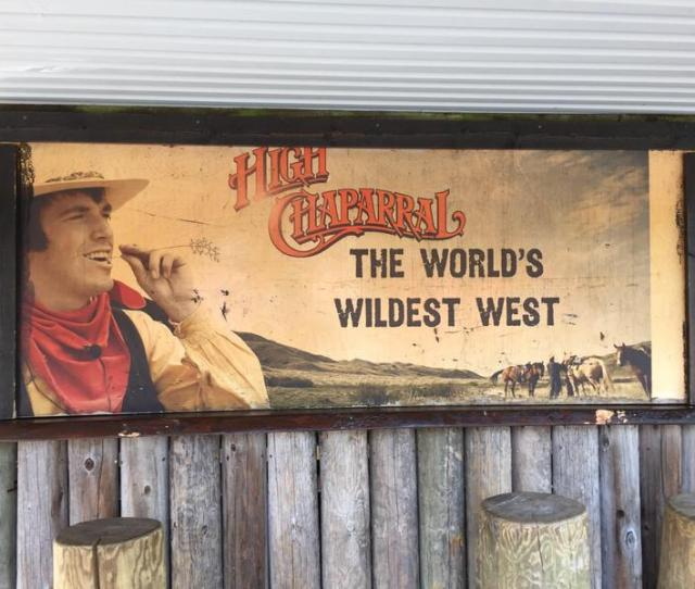 A Sign Near The Entrance Of High Chaparral A Wild West Theme Park In Sweden Micah Loewinger