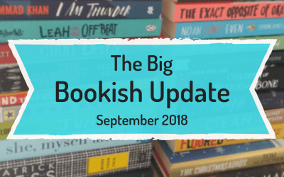 The Big Bookish Update: September 2018