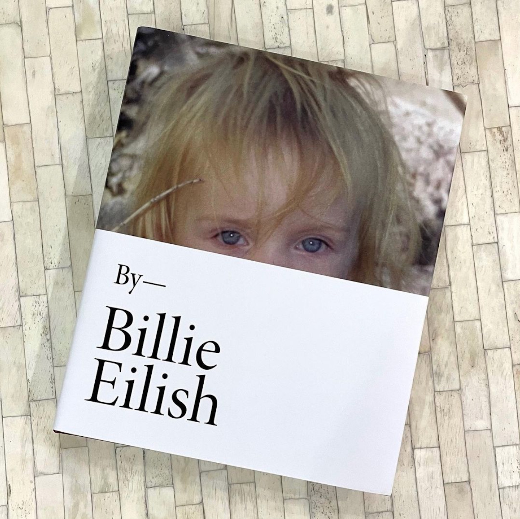The cover of 'Billie Eilish'