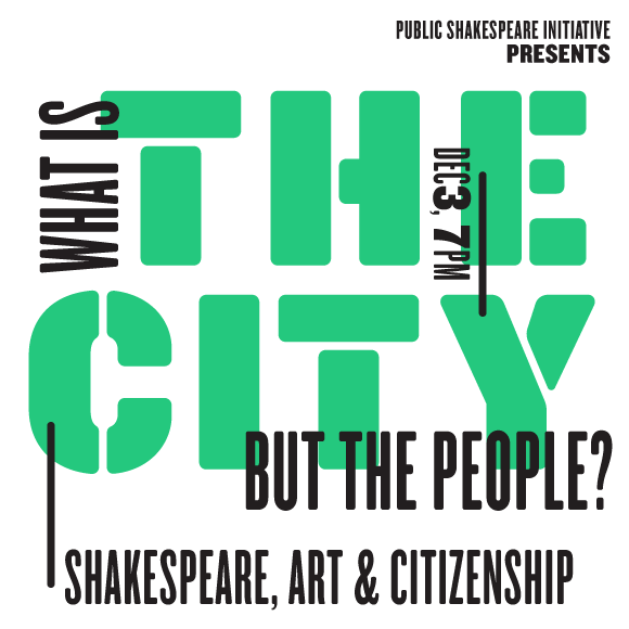 WHAT IS THE CITY BUT THE PEOPLE? PSI Presents on 12/3 at 7PM.