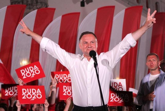 Prezydent Andrzej Duda / autor: M.Czutko