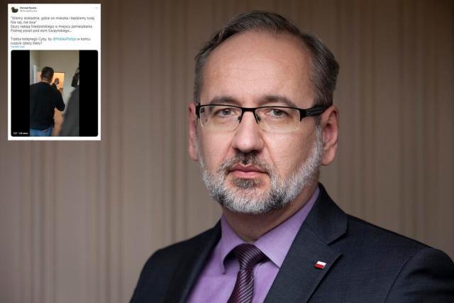 Minister Adam Niedzielski / autor: Fratria