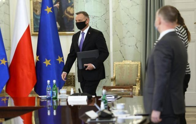 Prezydent RP Andrzej Duda / autor: PAP/Rafał Guz