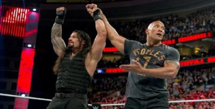 Rock And Roman Reigns May Be In A Tag Match