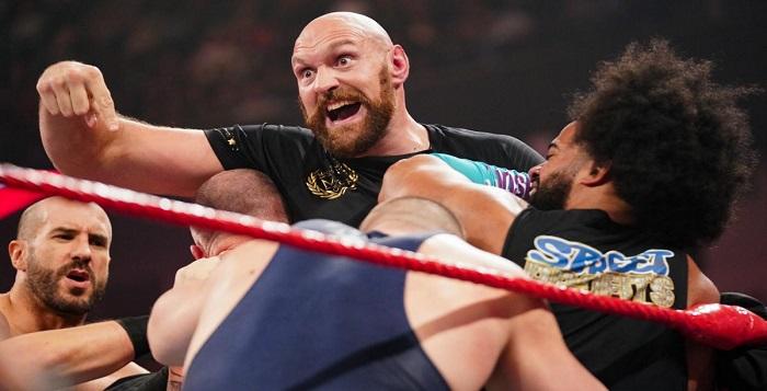 Major Sports Celebrity Backstage At WWE WrestleMania Backlash