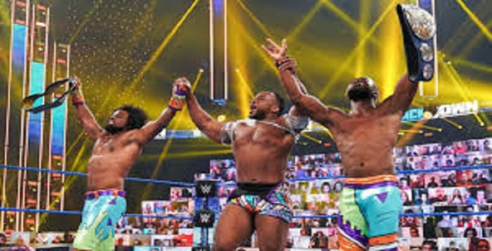 New Day Is Coming Together For Some Special Treatment