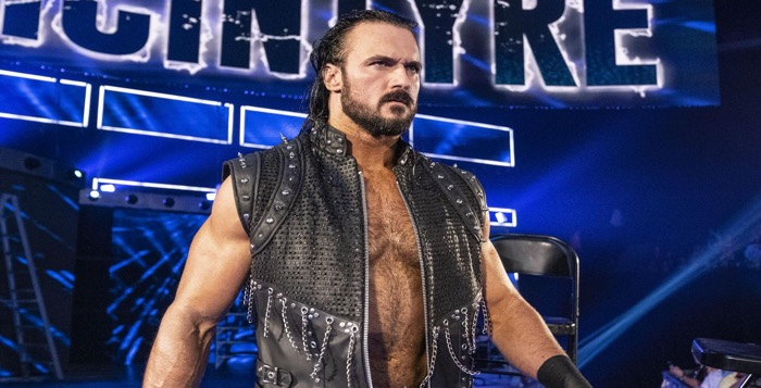 VIDEO: Drew McIntyre's Wardrobe Malfunction At WWE Live Event