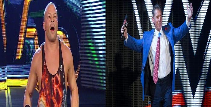 VIDEO: Rob Van Dam Gives Vince McMahon An Interesting Gift