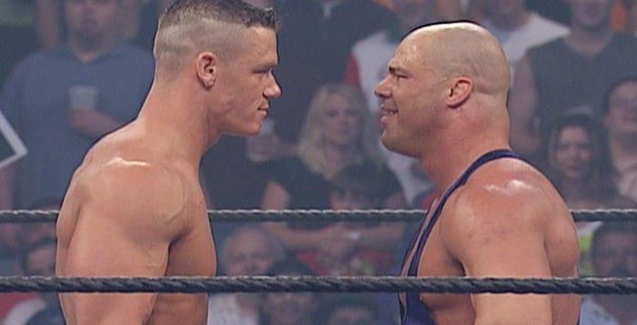 WATCH: John Cena's 2002 Debut vs. Kurt Angle