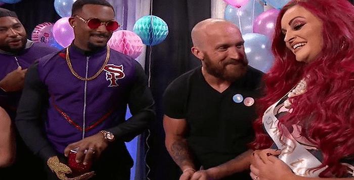 VIDEO: Wrestling Match Serves As Gender Reveal