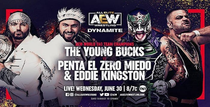 AEW Dynamite Live Coverage And Results – June 30, 2021