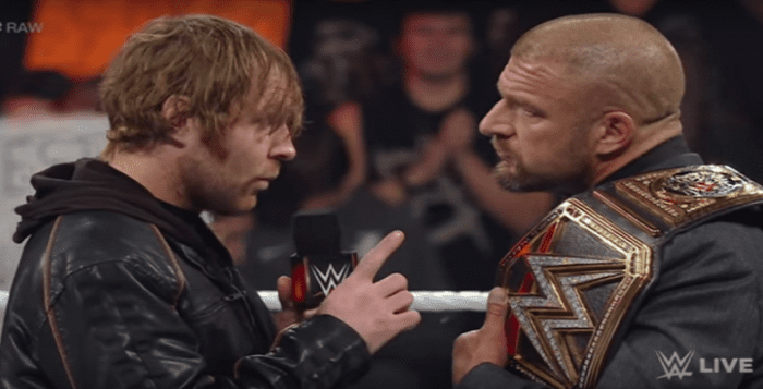 Triple H Stayed In Contact With Jon Moxley For A Good Reason