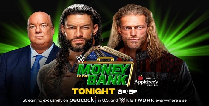 Money In The Bank 2021 Live Coverage And Results