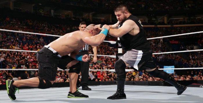 WATCH: John Cena vs. Kevin Owens From Battleground 2015