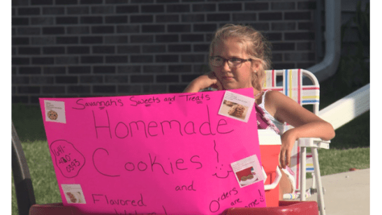 Police called multiple times on girl selling homemade cookies