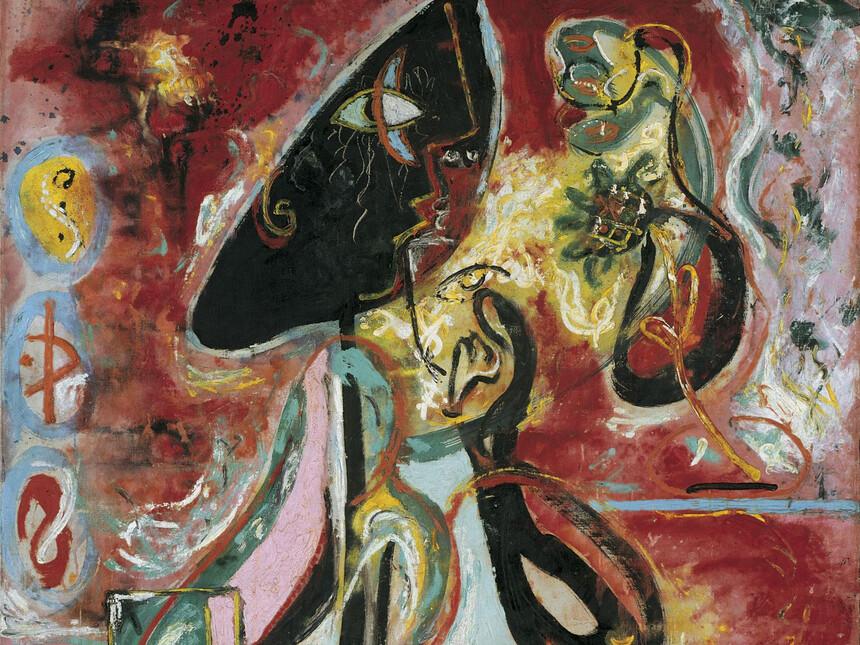 Jackson Pollock Mural