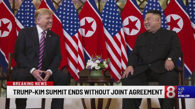 Image result for kim trump summit 2019