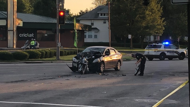 East Side Motorcycle Accident In June