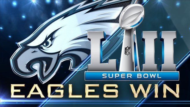 Image result for Super Bowl 52 champions eagles