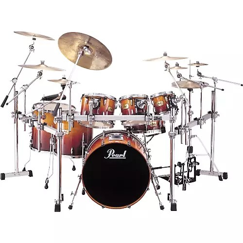 SRX Session Custom 7 Piece Drumset with Rack   WWBW Pearl SRX Session Custom 7 Piece Drumset with Rack thumbnail